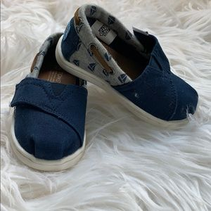 Toms anchor toddler shoes